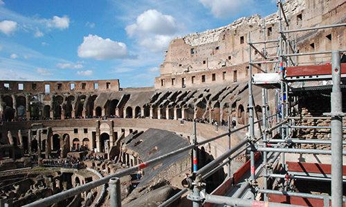 ponteggio_Colosseo_2